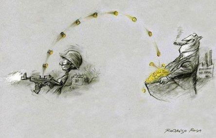 Το παράλογο του πολέμου & η μεταμφίεση των αυτοκρατοριών