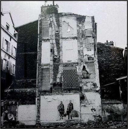 « Expulsions » (détail) d'Ernest Pignon-Ernest, 1979, coll. de l'artiste. (2)
